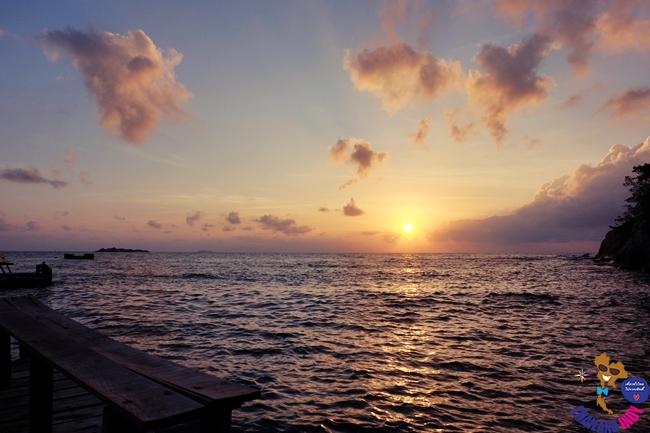 พระอาทิตย์ขึ้น ที่นิมมานรดี รีสอร์ท