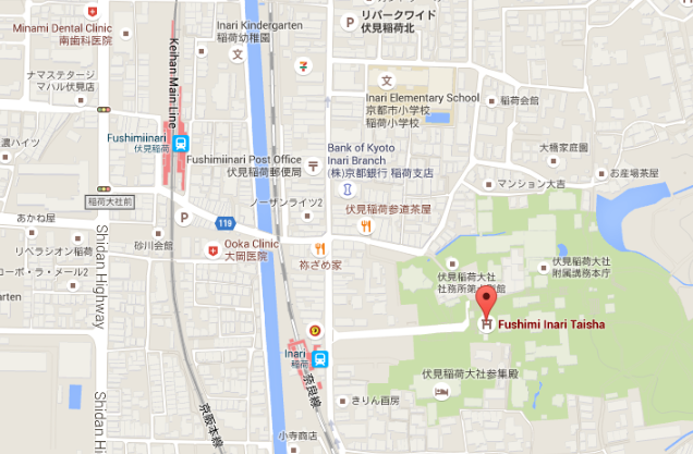 fushimi-inari-maps