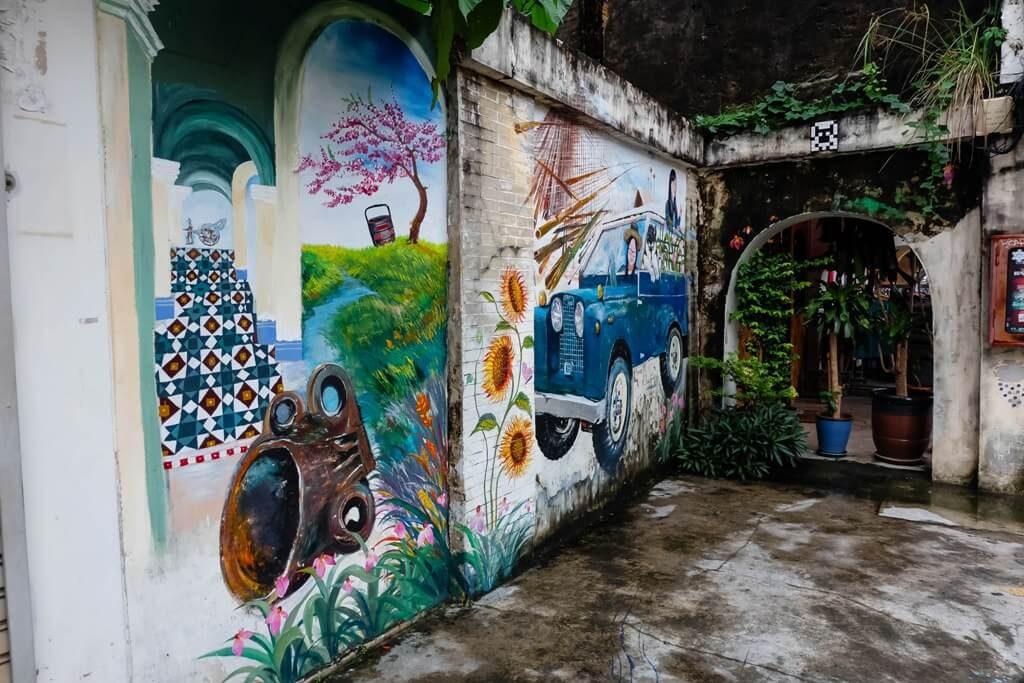 ภูเก็ต Street art