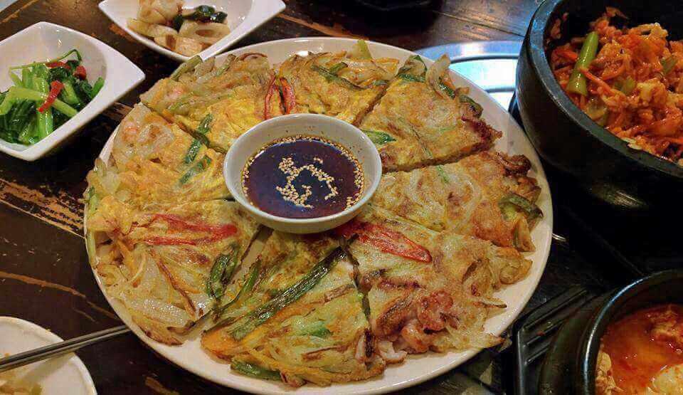 พิซซ่าเกาหลี Galbi maru