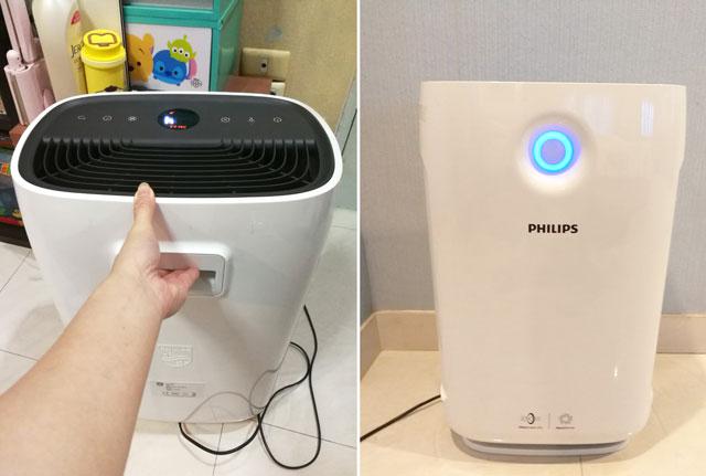 เครื่องฟอกอากาศฟิลิปส์-Philips-รุ่น-AC2887-กรองฝุ่นขนาดเล็ก-Pm2.5ระบบเซ็นเซอร์