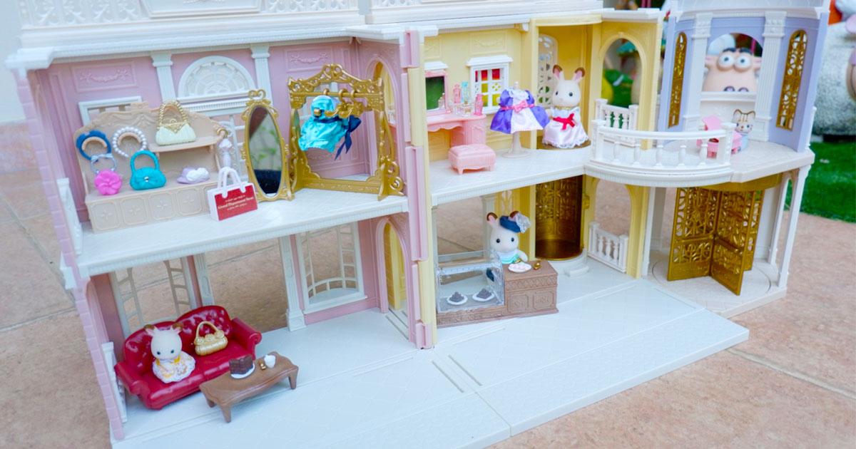 บ้านตุ๊กตาซิลวาเนียน-Sylvanian-Grand-Department-Store-บ้านตุ๊กตาน่ารัก