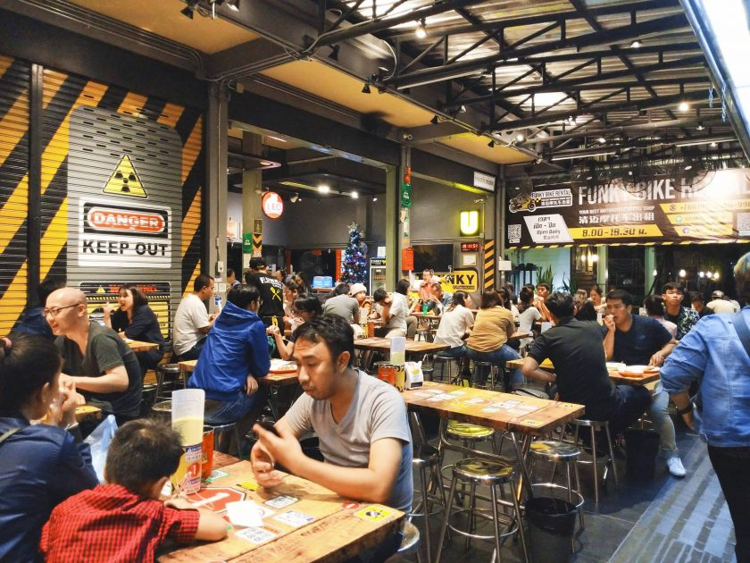 ปากเบิร์น!! กับปิ้งย่างหม่าล่าสูตรเข้มข้น จากเชียงใหม่ Funky Grill Chiangmai หม่าล่า ฟังกี้กริลล์ 麻辣烧烤