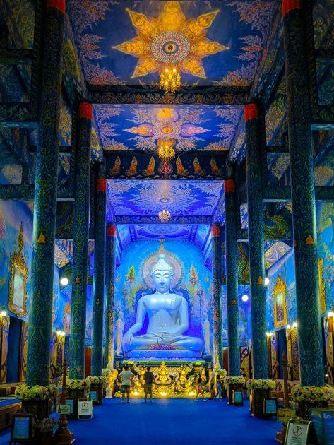 วัดร่องเสือเต้น Wat Rong Suea Ten เชียงราย